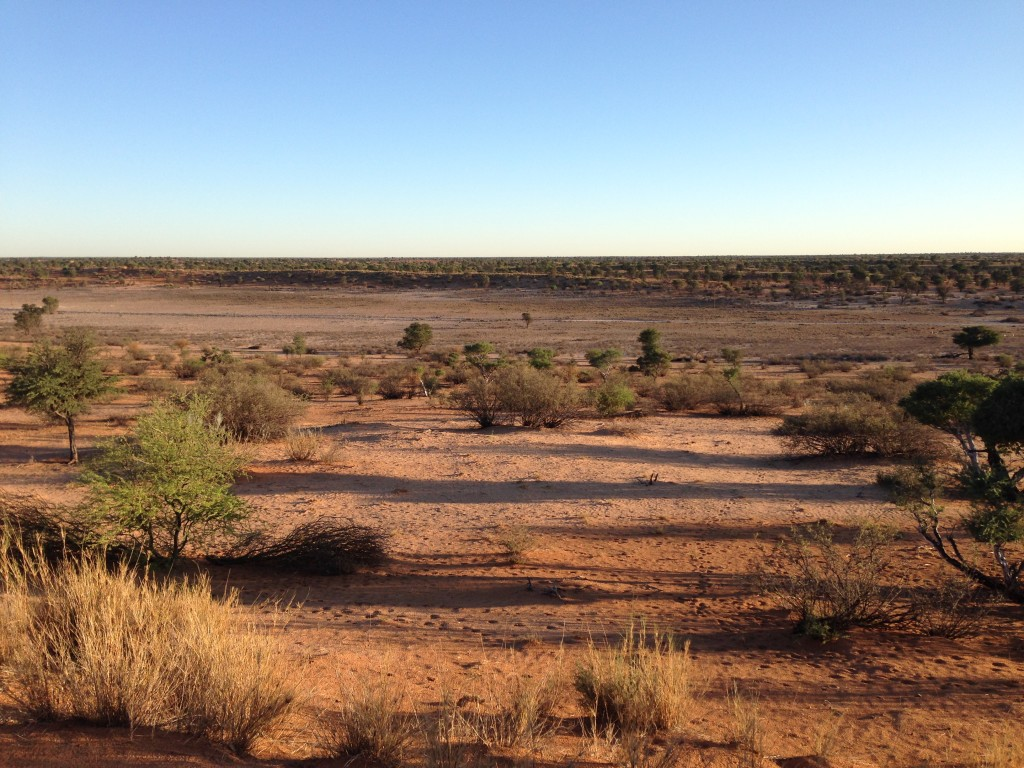 2 The flat Kuruman river bed