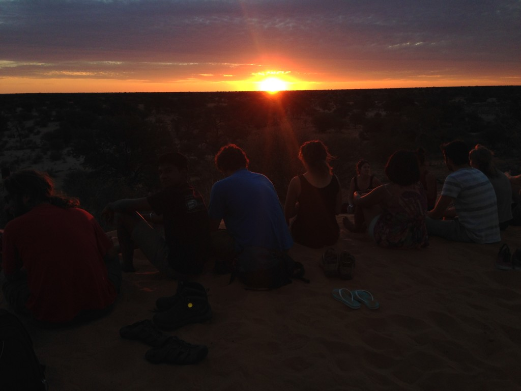 9 The limitless wealth of the Kalahari churns out one beautiful sunset and sunrise after another